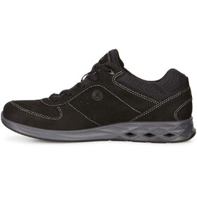 ECCO Wayfly Shoes Men Black/Black